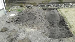芝づくり 土壌 作業始め