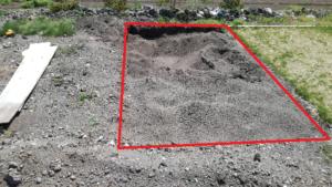 芝づくり 土壌 途中経過②