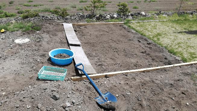 芝づくり 土壌 途中経過③