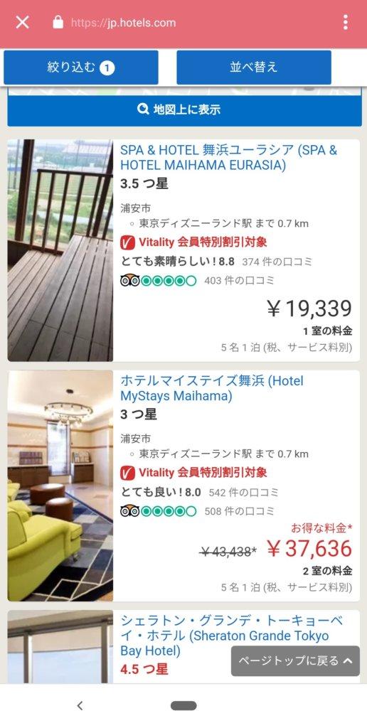 Hotels.com 東京ディズニーランド